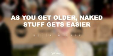 Helen Mirren inspirational quotes