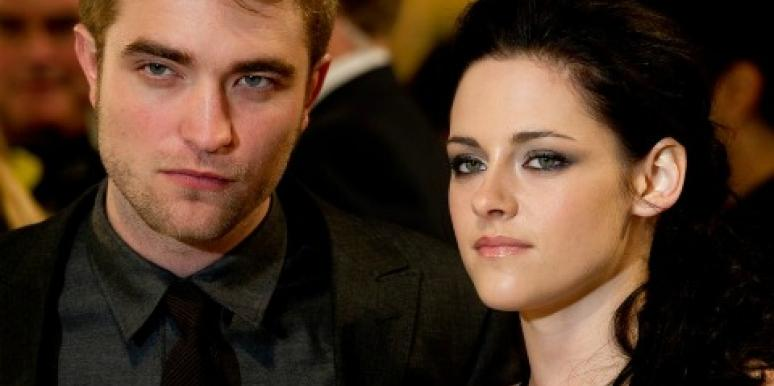 Kristen Stewart & Robert Pattinson's Heavy PDA At Pre-Oscar Party