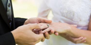 couple with ring