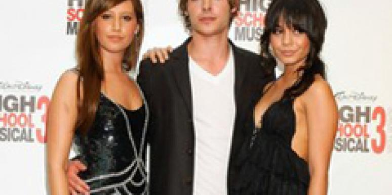 Ashley Tisdale, Zac Efron, and Vanessa Hudgens