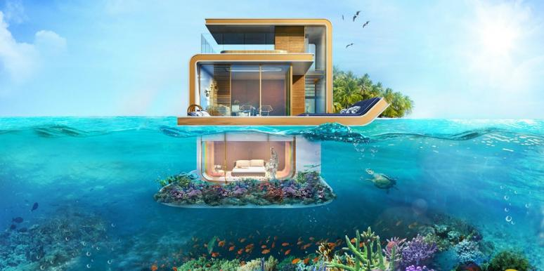 floating seahorse home