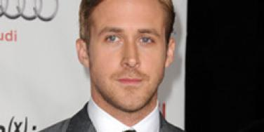 Ryan Gosling on the red carpet.