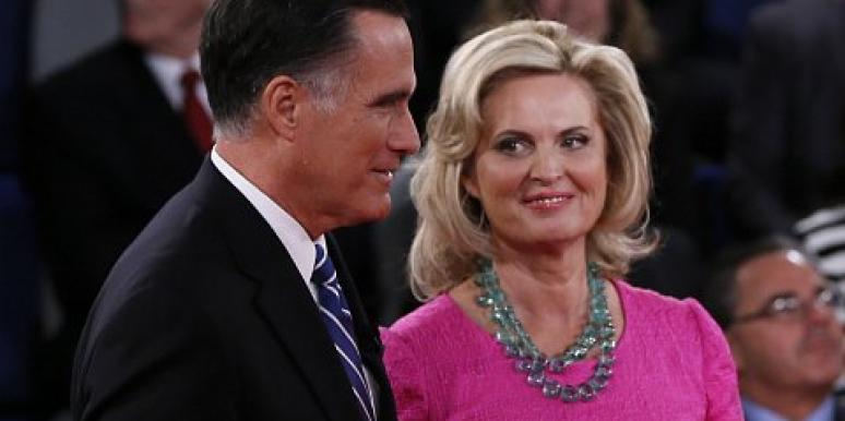 mitt romney ann romney binders full of women