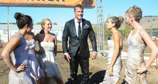 chris soules wet in a suit the bachelor bride race