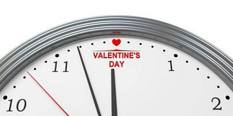 valentines day clock
