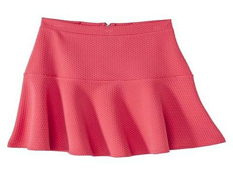 Xhilaration Junior's Textured Skirt