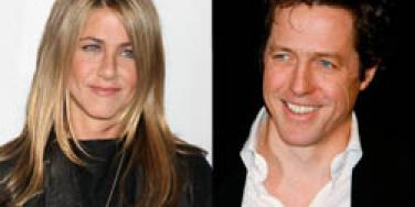 Jennifer Aniston and Hugh Grant