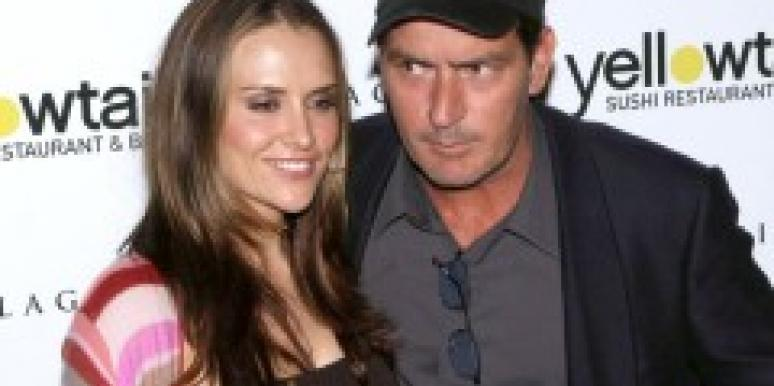 Brooke Mueller and Charlie Sheen