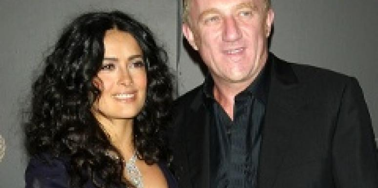 Salm Hayek Getting Married Again