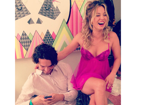 Kaley Cuoco-Sweeting Instagram