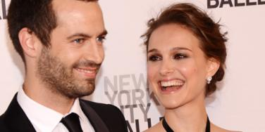 Natalie Portman and Benjamin Millipied marrying