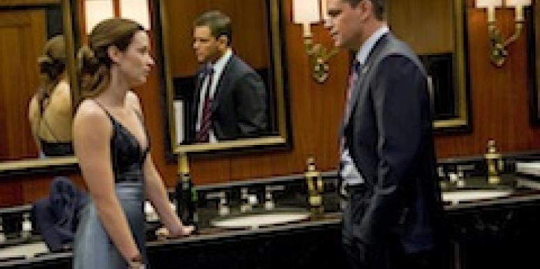 Matt Damon and Emily Blunt in The Adjustment Bureau