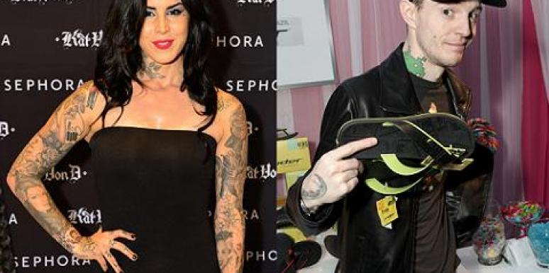 Kat Von D and DJ Deadmea5