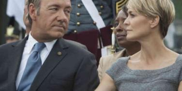 'House Of Cards' Frank Underwood and Claire Underwood (Kevin Spacey and Robin Wright)
