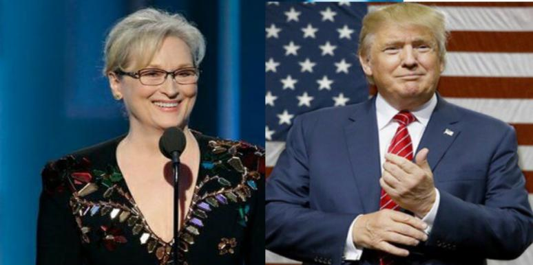 Meryl Streep Donald Trump politics Golden Globes