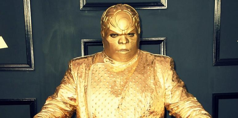 CeeLo Green Gold Grammys Mask Outfit