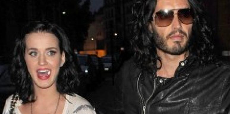 Russell Brand Loves Katy Perry's Brain, Not Beauty