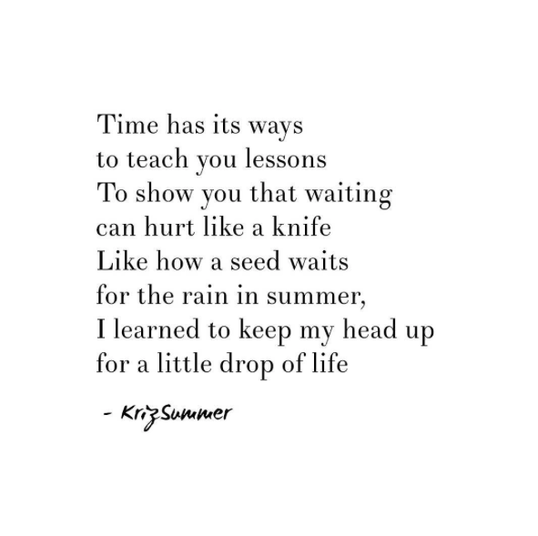 Kriz Summer Inspirational Instagram Quotes About Life