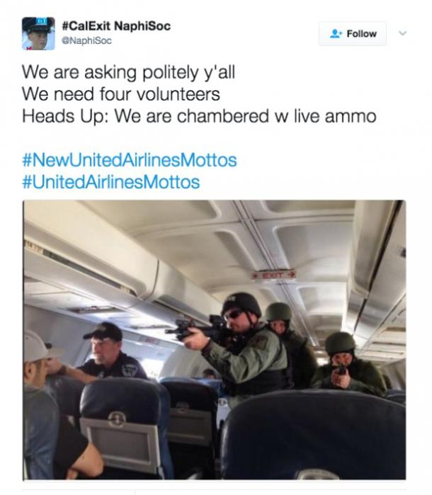 United Airlines funny tweets and memes