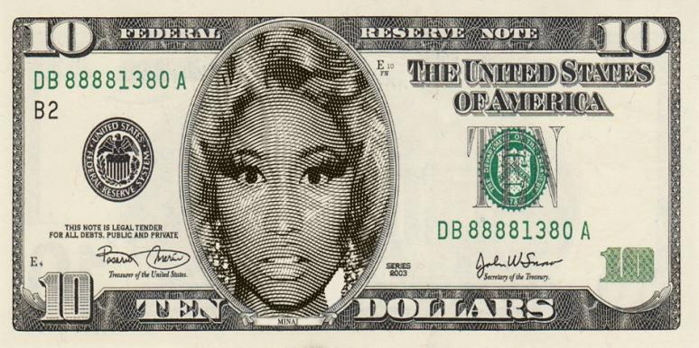 All Those In Favor Of Putting Nicki Minaj On The $10 Bill, Say 'Aye'!