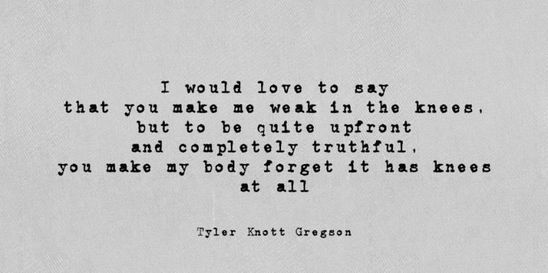 Tyler Knott Gregson Instagram Love Poems