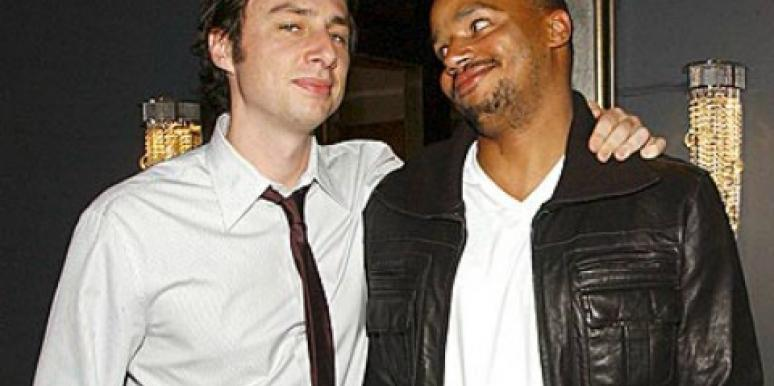 Donald Faison and Zach Braff