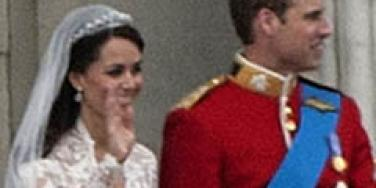 Prince William and Kate Middleton at Royal Wedding
