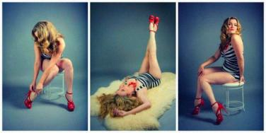pin-up photo shoot