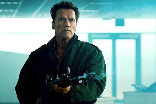 Arnold Schwarzenegger from The Expendables 2