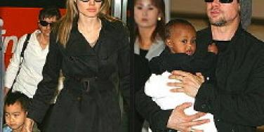 Brad & Angelina Marrying For The Kids