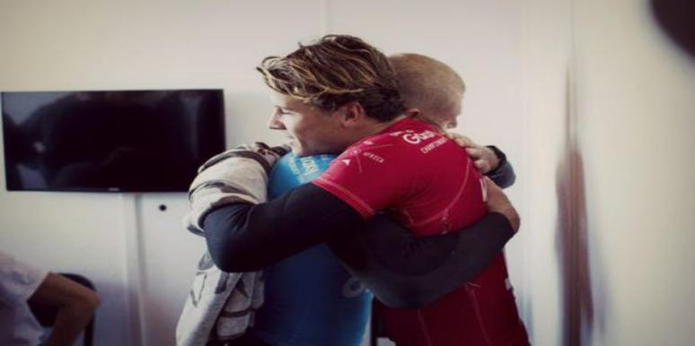 """Real Men"" Mick Fanning and Julian Wilson"