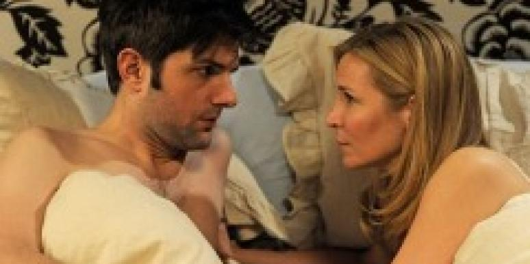 Jennifer Westfeldt and Adam Scott in 'Friends With Kids.'