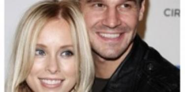 David Boreanaz and wife Jamie Bergman
