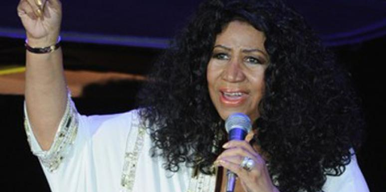 Aretha Franklin: No, I'm Not Pregnant, But I Am Getting Married!