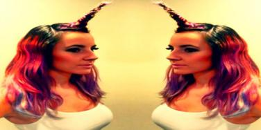 'Unicorn Horns' Are The Newest Hair Trend