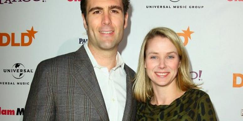 Marissa Mayer and her husband