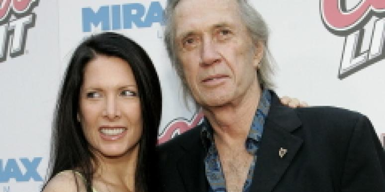 david carradine and wife Annie Bierman