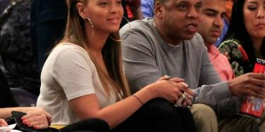 Jay-Z & Beyonce Have First Post-Baby Date Courtside At MSG