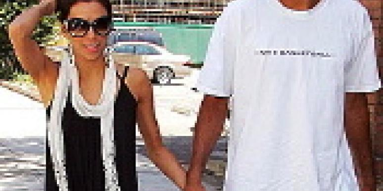 Eva Longoria with husband Tony Parker