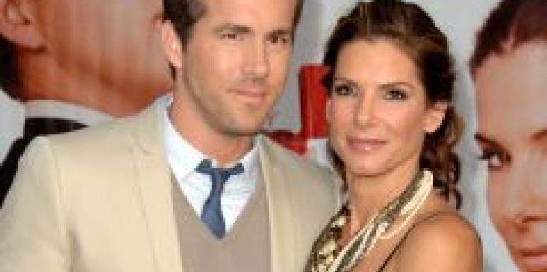 Are Ryan Reynolds and Sandra Bullock getting cozy?