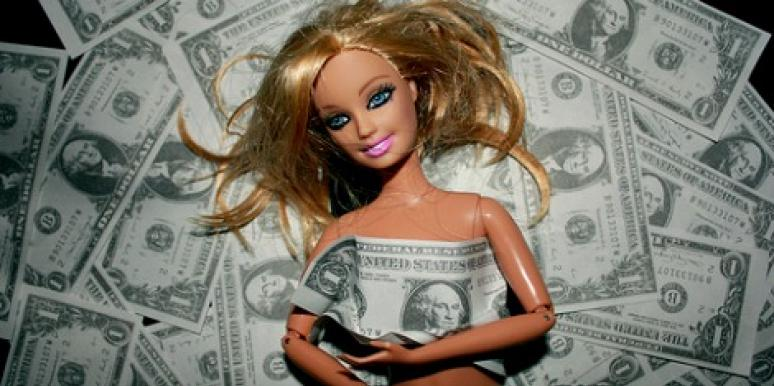 barbie loves money