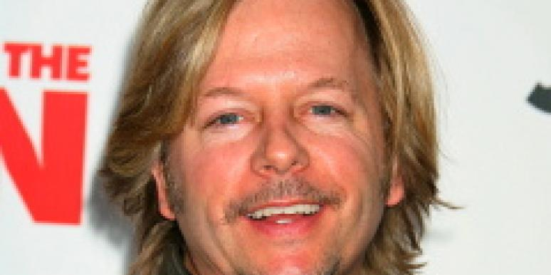 David Spade Following Michael Bolton