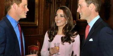 Prince Harry, Prince William, Kate Middleton