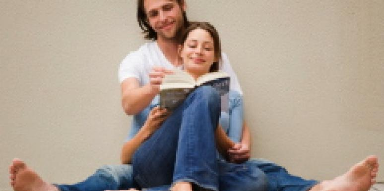 couple reading together