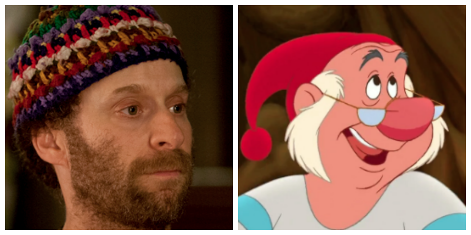 Jon Glaser and Smee - <i>HBO & Disney</i>