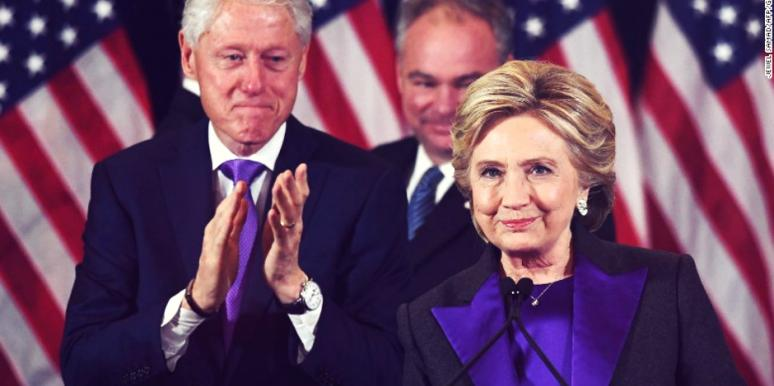 Hillary Clinton Presidential Election Concession Speech Women's Rights