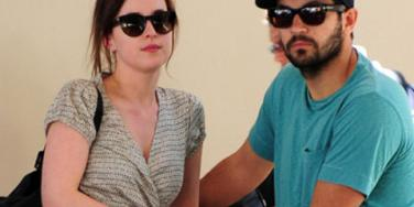 'Fifty Shades Of Grey' Star Dakota Johnson & Boyfriend Jordan Masterson