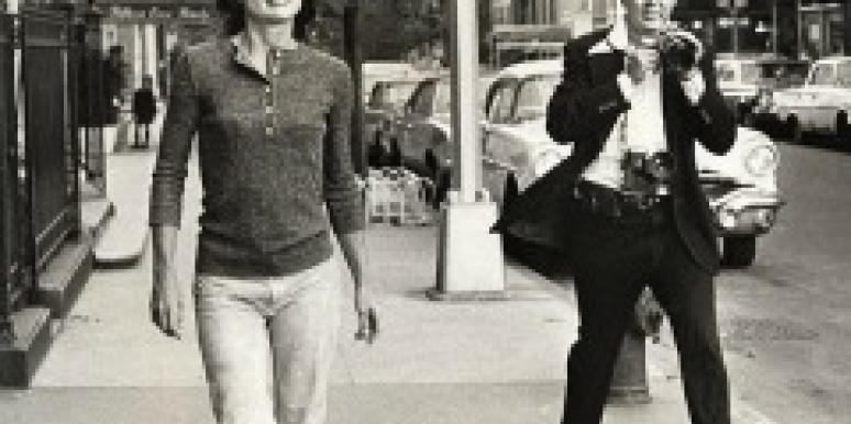 Jackie O with photographer Jackie Kennedy Onassis
