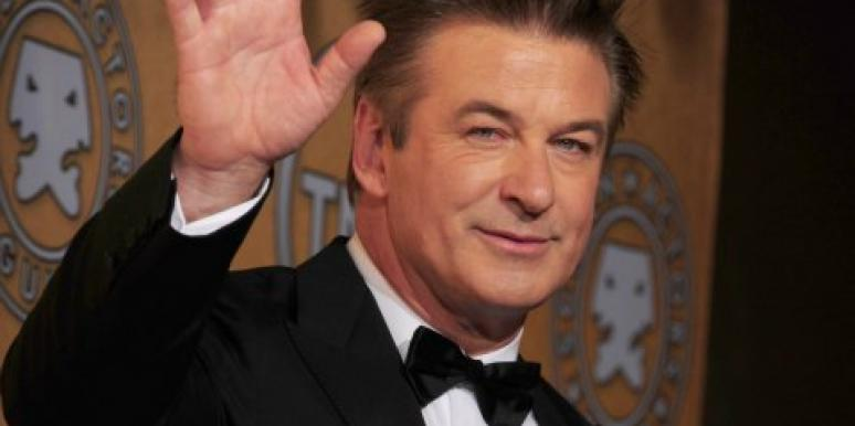 Alec Baldwin wedding photo