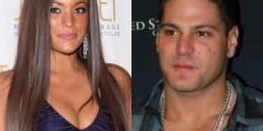 Jersey Shore's Sammy And Ronnie...Not Again!